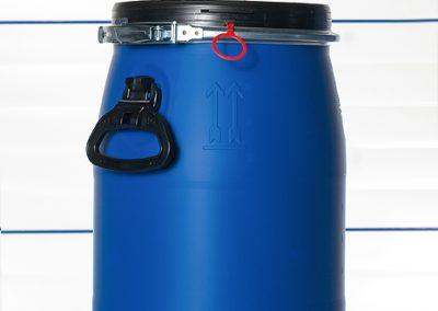 Deckelfass PE 30, 60, 120, 150 und 220 Liter