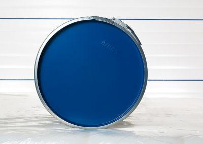 Fass blau Deckel