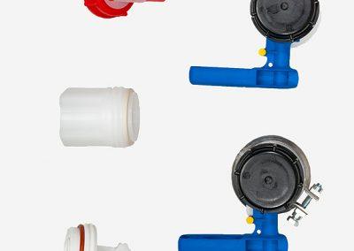 Zubehör und Ersatzteile für IBC und Fässer